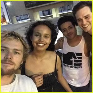 '13 Reasons Why' Stars Brandon Flynn, Alisha Boe & Christian Navarro Get Warm Welcome in Brazil