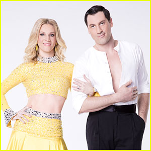 Heather Morris & Maksim Chmerkovskiy Earn Perfect Score For Rumba DWTS Season 24 Week 6