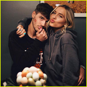 Jacob Whitesides Shares Kissy Photo With Country Singer Lennon Stella