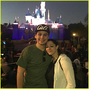 Jake T. Austin Treats Girlfriend Danielle Ceaser To A Disneyland Date!