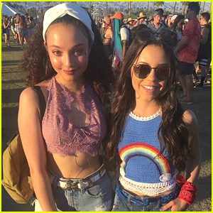 'Stuck In The Middle' Stars Jenna Ortega & Kayla Maisonet Hit Coachella Together!