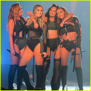 Little Mix's Leigh-Anne Pinnock Returns To Concert Stage After Burning Her Legs The Night Before