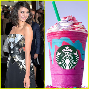 Unicorn Lover Nina Dobrev Weighs in on THAT Starbucks Drink
