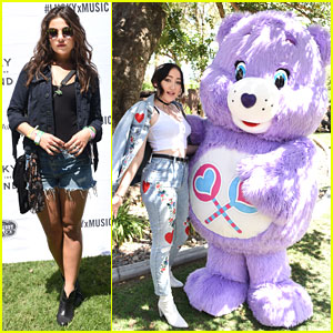 Noah Cyrus & Danielle Campbell Get 'Lucky' at Desert Jam Coachella Party