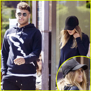 Perrie Edwards & Alex Oxlade-Chamberlain Couple Up For London Lunch