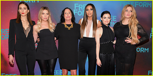 The 'Pretty Little Liars' Cast Attend Their Final Upfronts Together in NYC