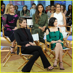 The 'Pretty Little Liars' Cast is Happy To Not Keep Secrets Anymore (Video)