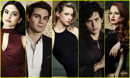 KJ Apa, Cole Sprouse, & 'Riverdale' Cast Get Hot New Promo Pics!