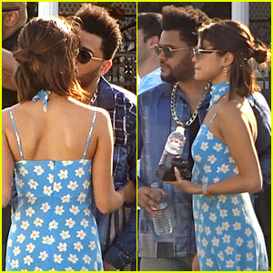 Selena Gomez & The Weeknd Continue PDA at Coachella Weekend 1!