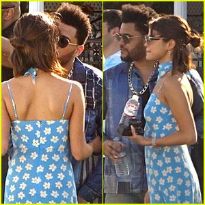 Selena Gomez & The Weeknd Continue PDA at Coachella Weekend 1!