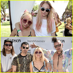 DNCE Puts Festival Style on Display at Republic Records Party!