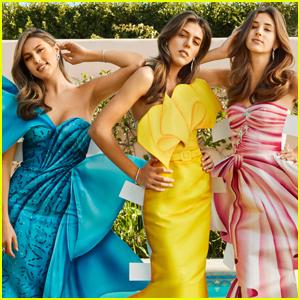 Sophia, Sistine & Scarlet Stallone Spill On Their Famous Family