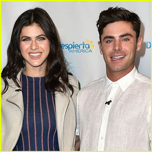 Alexandra Daddario Says She & Zac Efron Are Just 'Good Friends'