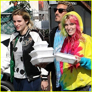 Bella Thorne Grabs Breakfast with Sister Dani After Cannes Trip
