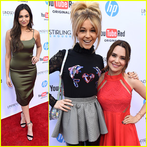 Bethany Mota & Rosanna Pansino Support Lindsey Stirling at 'Brave Enough' Documentary Premiere
