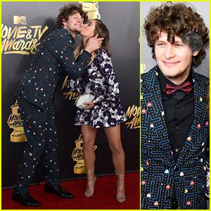 Brett Dier & Haley Lu Richardson Are Such a Cute Couple at MTV Movie & TV Awards 2017