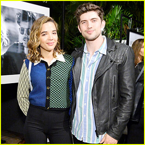 Famous in Love's Carter Jenkins & Georgie Flores Hang Out at Oliver Peoples Party