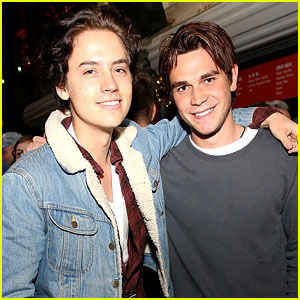 'Riverdale's Cole Sprouse & KJ Apa's Compliment Battle is THE BEST -- Video Inside