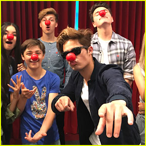 Forever In Your Mind Record Shake Their Red Noses For Charity