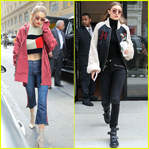 Gigi Hadid Can't Stop Wearing Her Favorite Sunglasses!