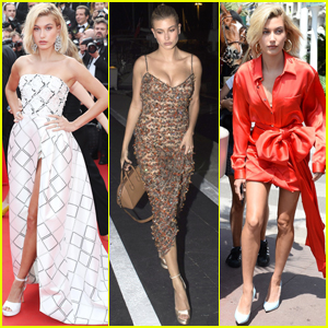 Hailey Baldwin Has Been Wearing Such Stunning Outfits at Cannes!