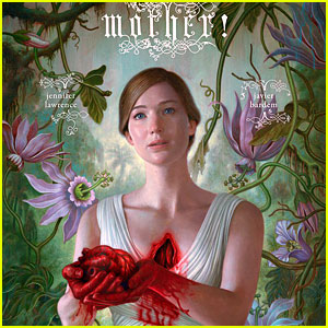Jennifer Lawrence Rips Heart Out on New 'mother!' Poster