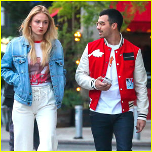 Do Joe Jonas & Sophie Turner Coordinate Their Oufits?