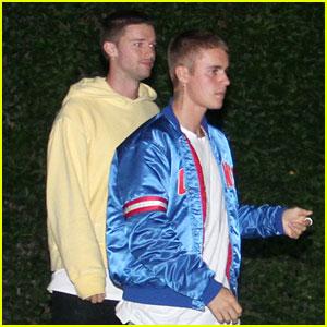 Justin Bieber Has a Thumb War with Patrick Schwarzenegger's Girlfriend (Video)