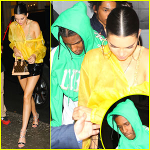 Kendall Jenner Couples Up With A$AP Rocky For Met Gala 2017 After-Party