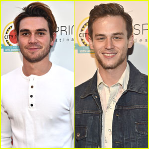 Riverdale's KJ Apa & 13 Reasons Why's Brandon Flynn Bring The Heat to City Year Spring Break!