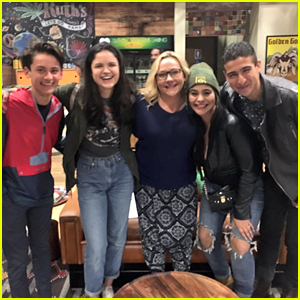 'Liv & Maddie's Parker & Willow Reunite With Dump Truck & Andi - Pic!