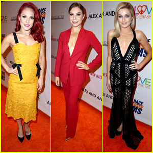 'DWTS' Pros Sharna Burgess, Lindsay Arnold & Jenna Johnson Stun at Race to Erase MS Gala
