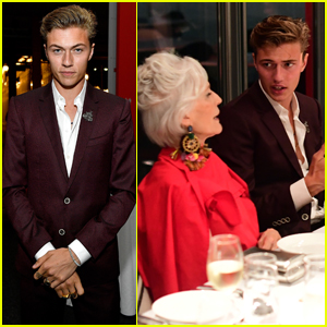 Lucky Blue Smith Suits Up For 'The Business of Fashion'