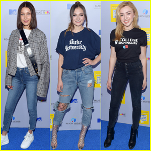 Bella Hadid, Daya & Peyton List Celebrate College Signing Day!