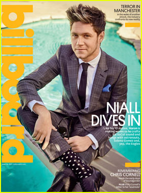 Niall Horan Tells 'Billboard' That Selena Gomez is the 'Perfect Role Model'