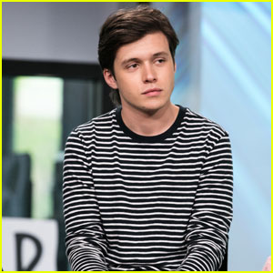 Nick Robinson Looks Super Hot While Promoting 'Everything, Everything' in NYC