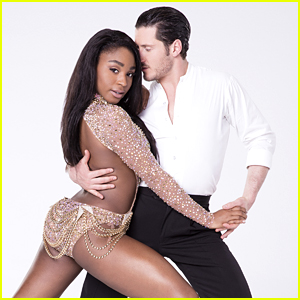 Normani Kordei & Val Chmerkovskiy Jazz DWTS Season 24 Week 8 Semi-Finals