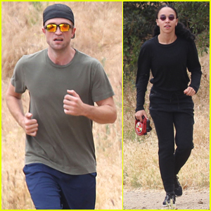 Robert Pattinson Joins Girlfriend FKA twigs for a Hike in Malibu!