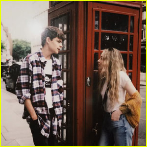 'Girl Meets World' Stars Sabrina Carpenter & Corey Fogelmanis Reunite in Goofy New Video