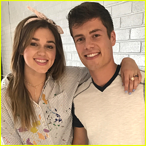 Sadie Robertson Films Music Video with Lawson Bates - Exclusive Pics!