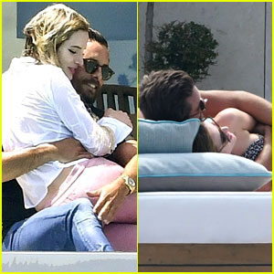 Bella Thorne Sits on Scott Disick's Lap in Cozy Cannes Photos
