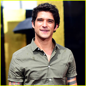 Tyler Posey Keeps His Chill at the MTV Movie & TV Awards 2017