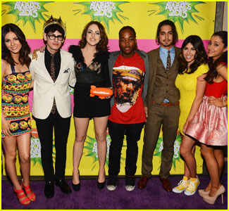 The 'Victorious' Cast Sends Love to Ariana Grande