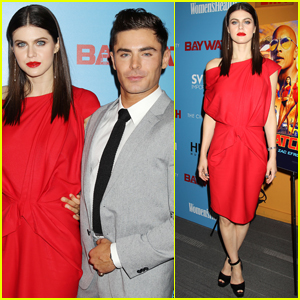 Zac Efron & Alexandra Daddario Continue Their Non-Stop 'Baywatch' Press Tour
