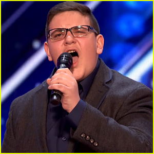 Singer Christian Guardino's 'AGT' Audition Earns Golden Buzzer - Watch Now!