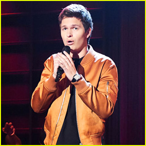 Ansel Elgort Sings 'Easy' & 'Ain't No Mountain High Enough' During Corden's Riff-Off!