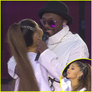Ariana Grande Belts Out 'Where is the Love?' With Black-Eyed Peas at 'One Love Manchester' (Video)