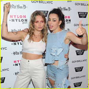 Charli XCX & Tove Lo Make Their Best Funny Faces During Governors Ball Weekend!