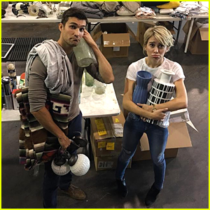 Chelsea Kane Shows Off Fake Baby Bump on 'Baby Daddy' Set ...