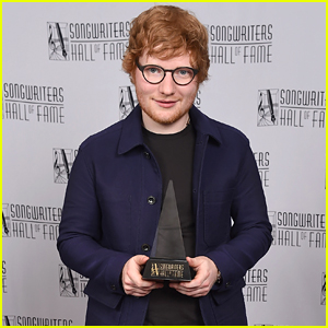 Ed Sheeran is Honored at the Songwriters Hall of Fame Awards!